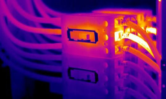 hot electrical infrared