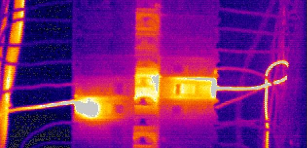 infrared detecting wiring defects